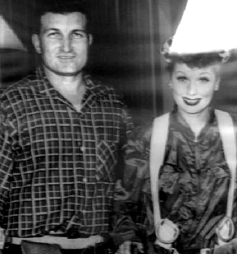 Joe Lombardi & Lucille Ball