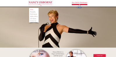 Nancy Osborne, Jazz Artist, Entertainer