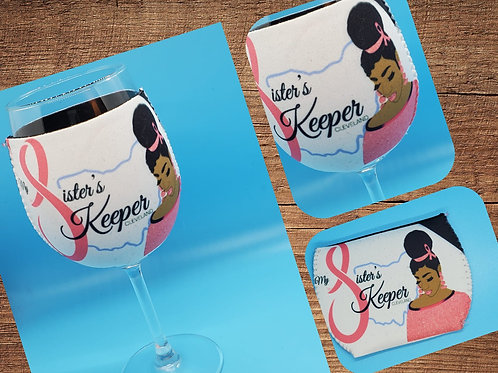 Fundraising Item: Wine Glass Cozy