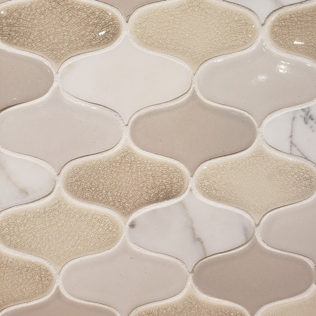 POINTED OVAL MOSAIC