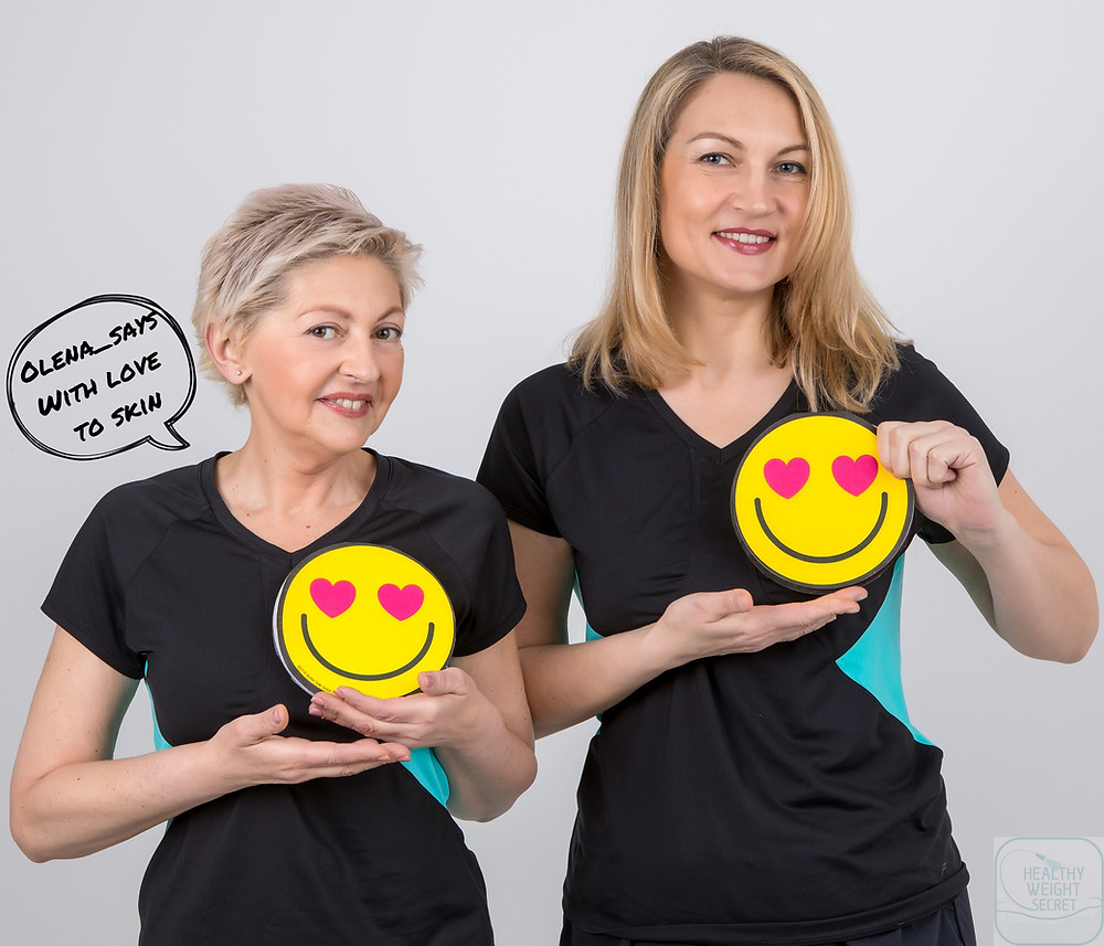 Olena (left) is the founder of the Healthy Weight Secret and Irina(right), Olena's partner