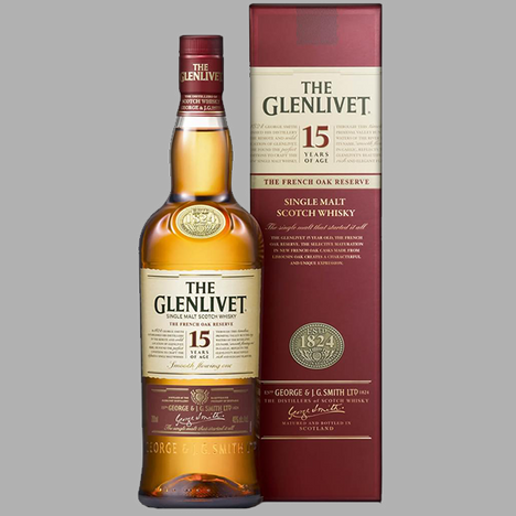 The Glenlivet 15yo - French Oak Reserve
