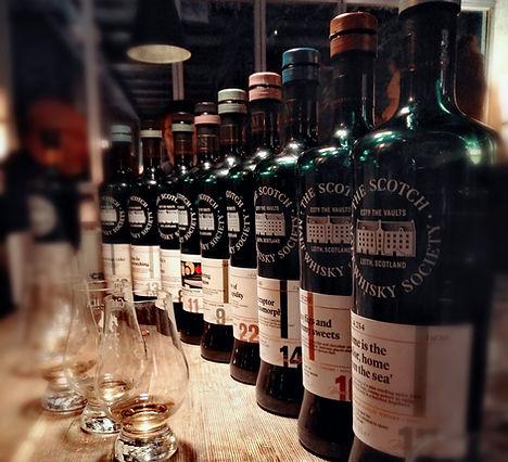 Die bunte Vielfalt der Scotch Malt Whisky Society