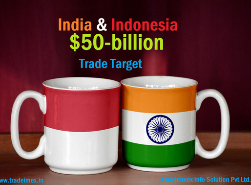 India, Indonesia set a $50-billion trade target to boost economic growth