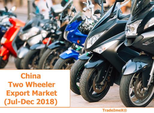 China Two Wheeler Export Market (Jul-Dec 2018)