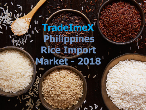 Philippines is about to Import 1.2 Million MT of rice in 2019