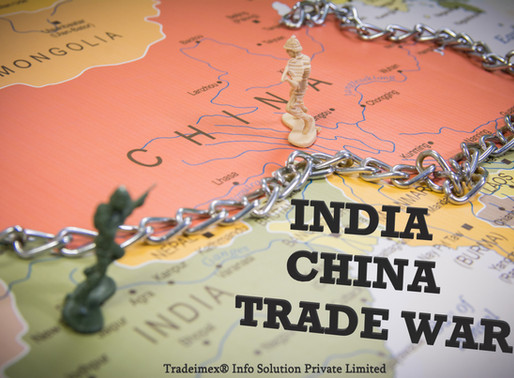 India Imports from China - 'Boycott China' possible?