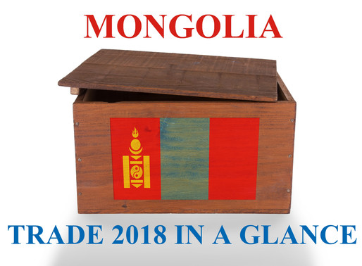 Mongolia Trade 2018 in a Glance