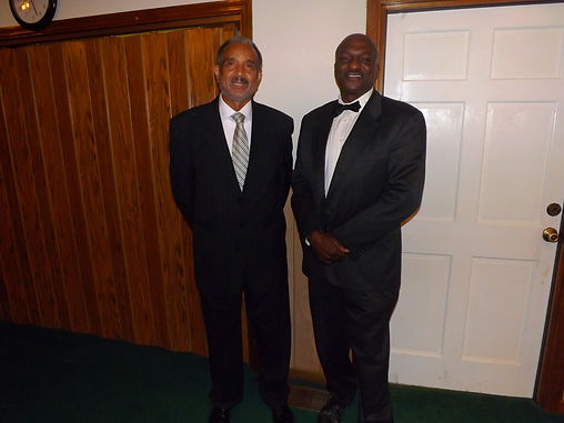 Deacon Larry Etheredge and Deacon Bill Williams