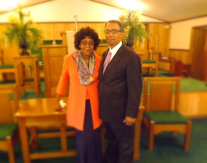 Sister Carrie Watson and Pastor Henry Watson