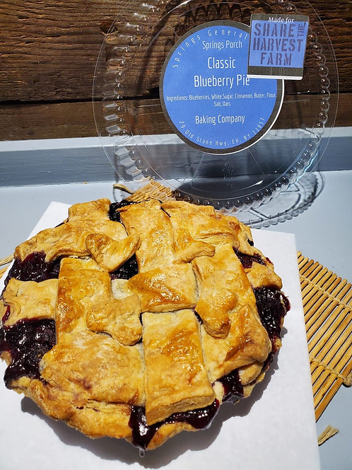 """Small (6"""") Pies, Springs General Store"""