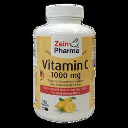 Zein Pharma - 維他命C_1000毫克_膠囊