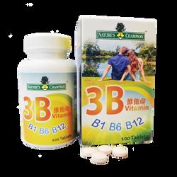 NC - 3B 維他命 B1 B6 B12