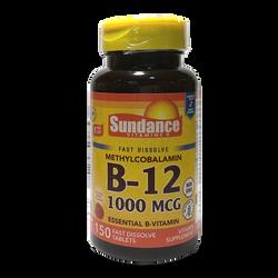 SUNDANCE - 維他命B 12 (快速溶解)(150粒) (非基因改造)