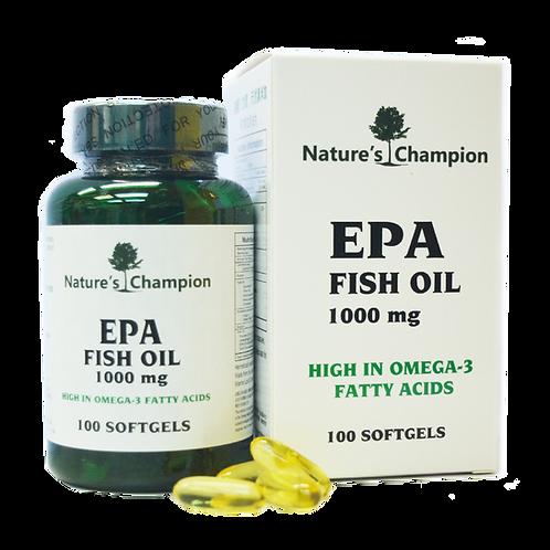 Nature's Champion - 阿拉斯加魚油Ω-3