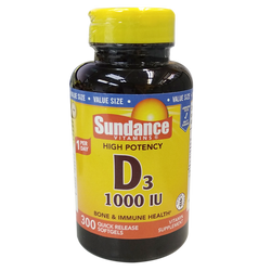 SUNDANCE - 維他命_D3 1000IU 300's