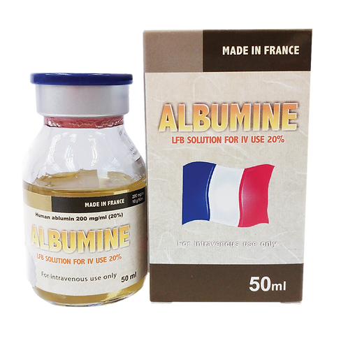 Albumine - LFB Solution For IV Use  20%