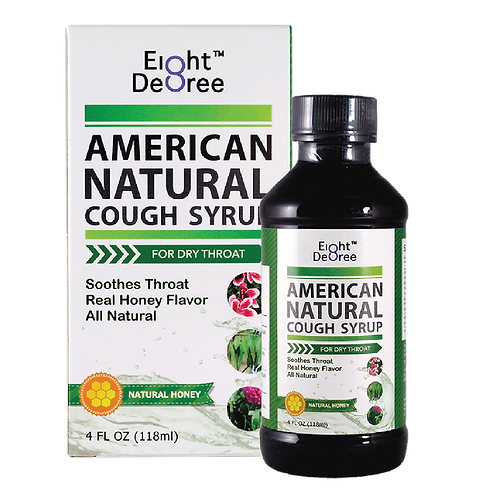 8度-強力化痰咳素 American Natural Cough Syrup