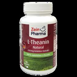 Zein Pharma - L-茶氨酸_250毫克_膠囊