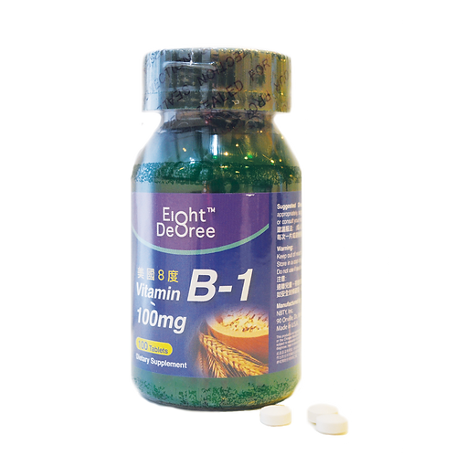8度 - Vitamin B-1 100mg