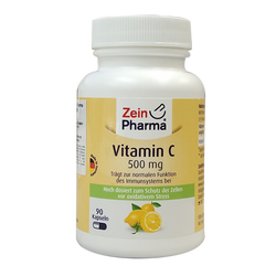 Zein Pharma - 維他命C_500毫克_膠囊