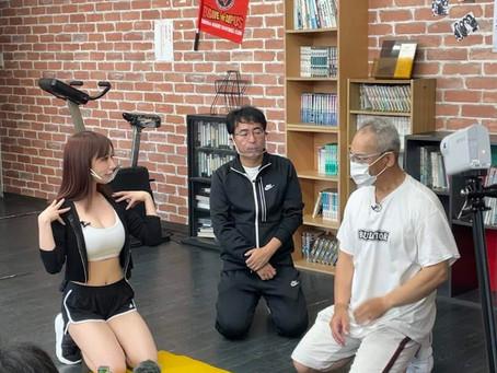"""奈良テレビ番組""""健康に福を呼ぶ""""の収録が当ジムでありました"""