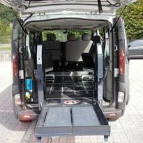 noleggio minibus per disabili in Trentino