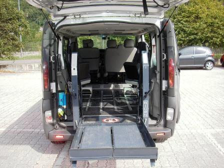 minibus hire for the disabled in Trentino
