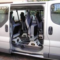 trasferimento disabile su carrozzina