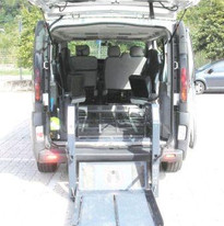 trasporto disabile su carrozzina Trento