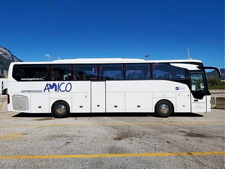 pullman di Autonoleggio Amico di Trento