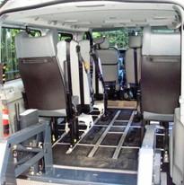 taxi per disabile a Bolzano e Merano