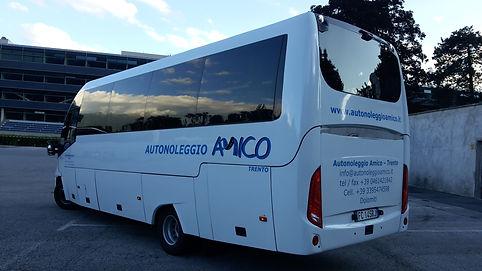 bus a noleggio Trento