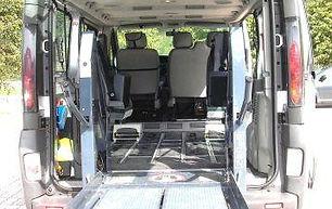 taxi per disabile Trento trasporto disabili