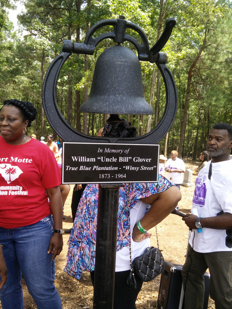 Bell @ True lue Cemetery