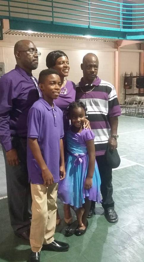Jackie, Stephanie Witmore &  family