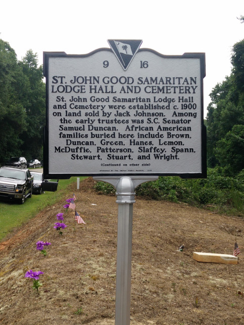 Front of marker
