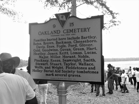 Reverse side of marker