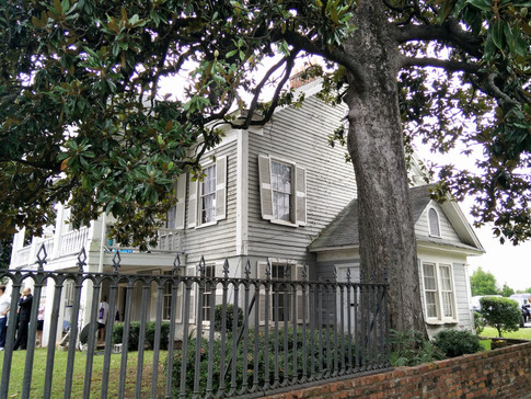 Right side of McCord House