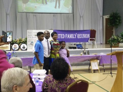 The Whitmore family