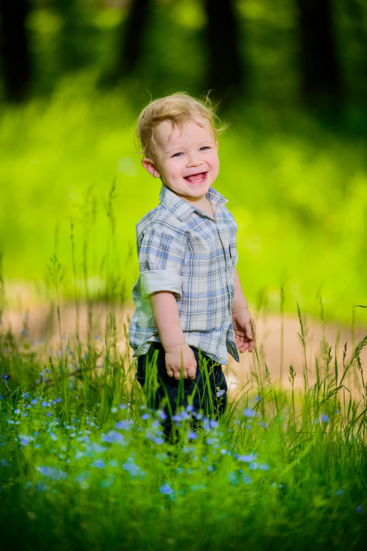 улыбчевый ребенок