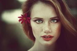 портрет модели
