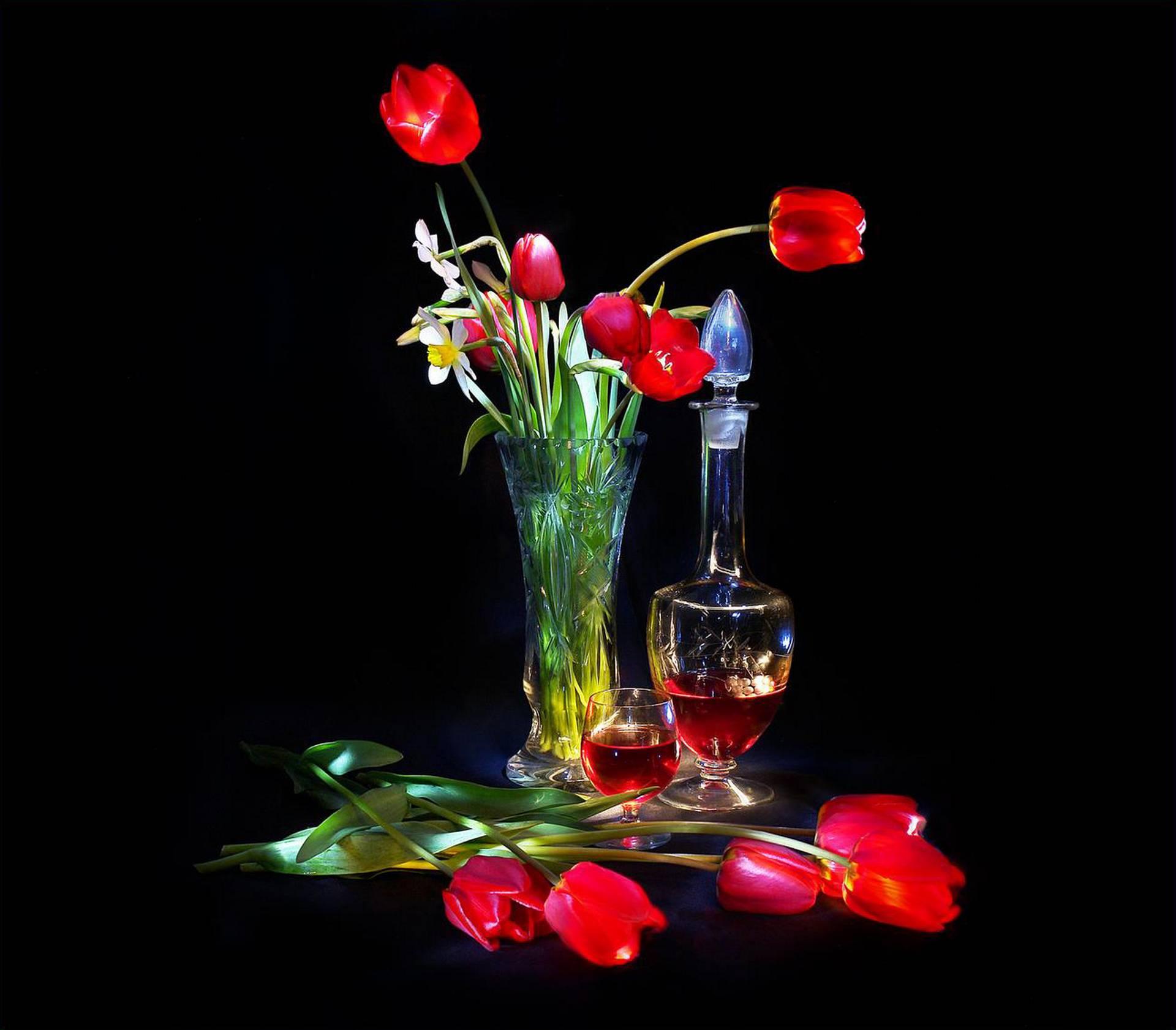 May. Tulips