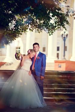 чувственная свадебная фотография