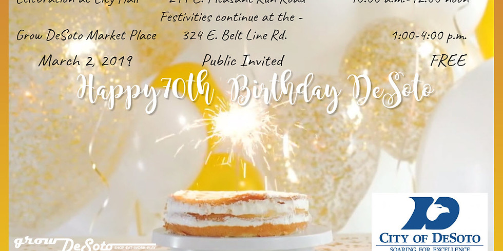 City of Desoto Birthday Bash After-Party