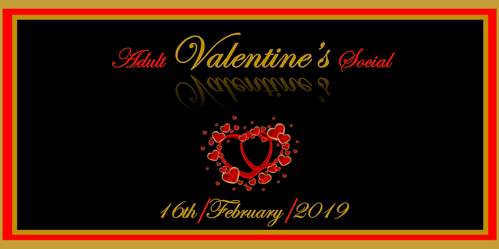 Adult Valentine Social hosted by Alisa's Events