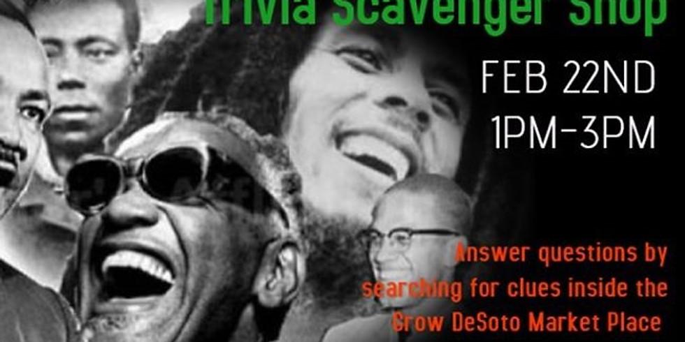 Black History Trivia Scavenger Shop