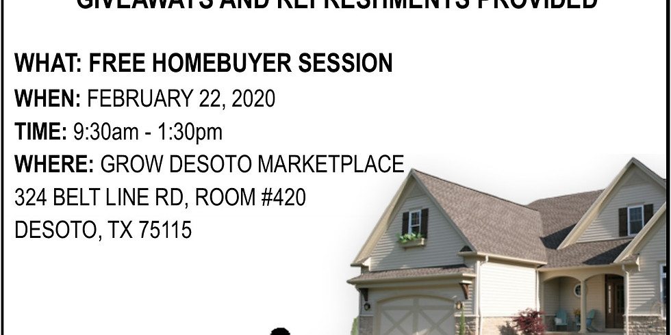 Home Buyers Session FREE