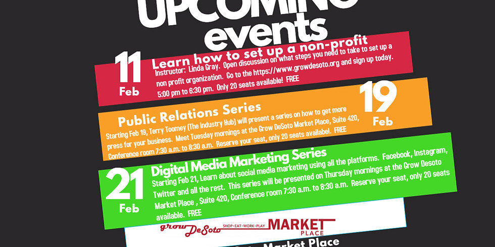Small Business Training - Public Relations