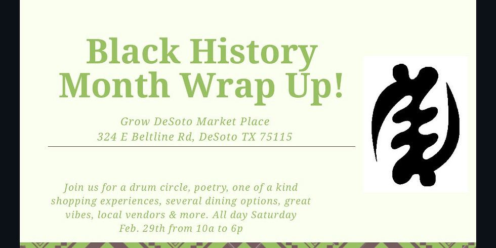 Black History Month Wrap up!